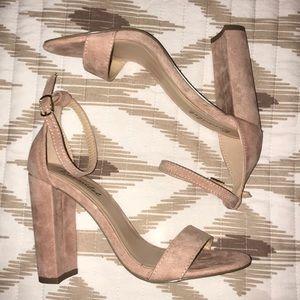 Blush Chunky Heels